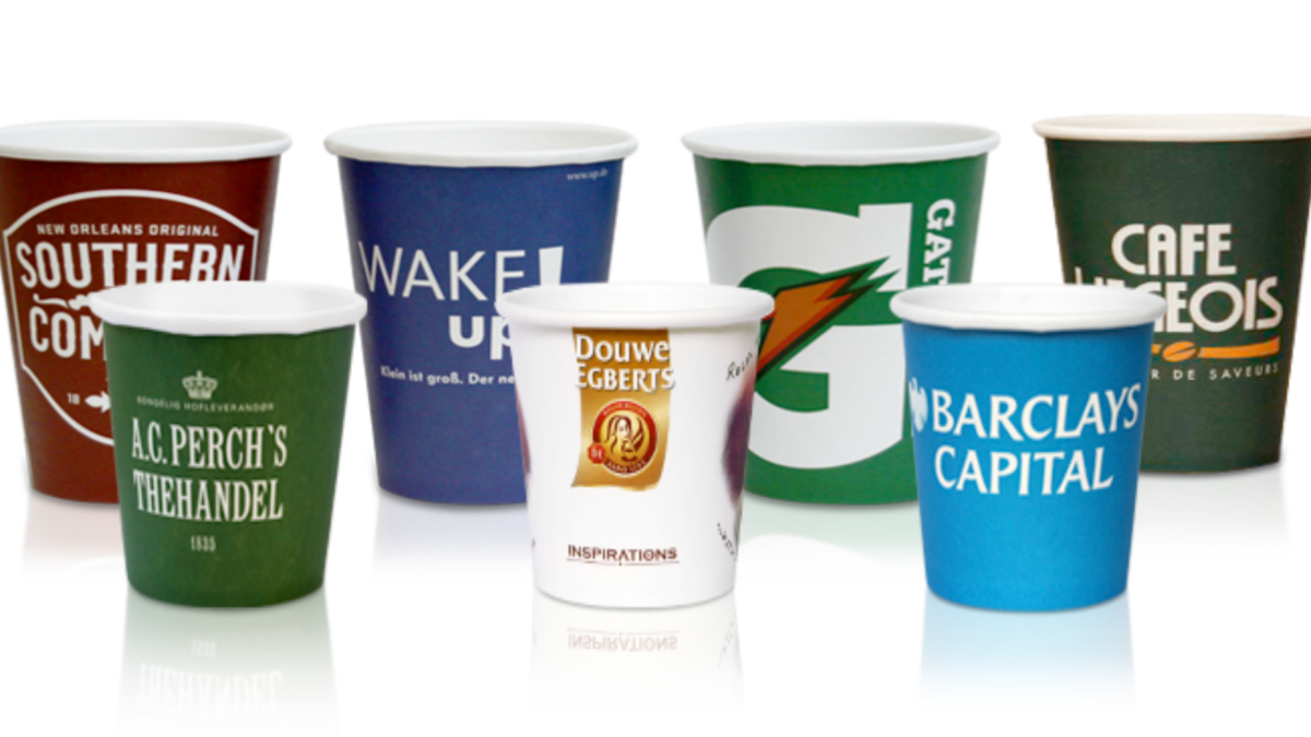 Branded Paper Cup – Printing companies in Pretoria, South Africa